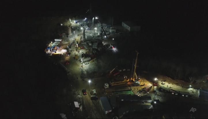 Górnicy uwięzieni w kopalni złota w Chinach. Trwa akcja ratunkowa