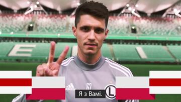 Glik, Kapustka, Zmarzlik i Kołecki wspierają Białorusinów. Wyjątkowe nagranie polskich sportowców