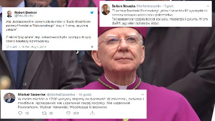 """""""Abp Jędraszewski to nie tylko cymbał - to samo ZŁO"""". Boni odpowiedział na """"tęczową zarazę"""""""