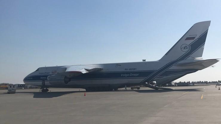Jeden z największych samolotów na świecie wylądował w Polsce. Przywiózł sprzęt medyczny