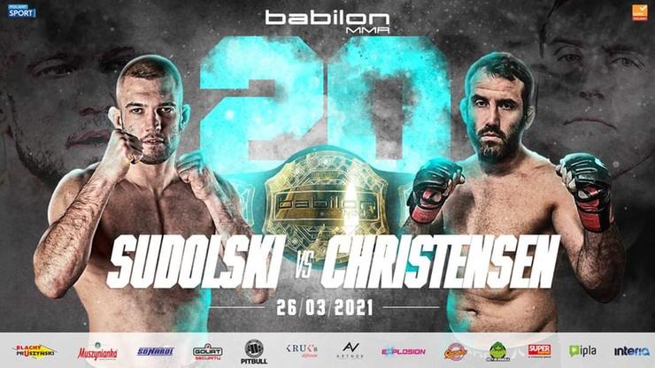 Babilon MMA 20: Znamy bohaterów walki wieczoru