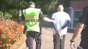 Został aresztowany za brak maseczki. Podczas interwencji doznał zawału
