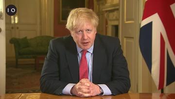 Johnson po raz pierwszy po wyjściu ze szpitala rozmawiał z królową