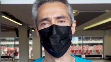 Paulo Sousa zaszczepiony przeciw COVID-19