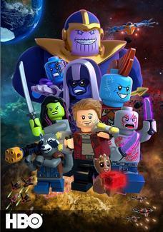 LEGO Marvel Super Bohaterowie: Strażnicy Galaktyki: Nikczemny plan Thanosa