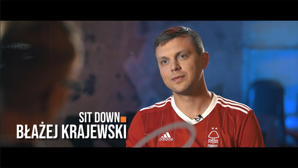 Sit down. Rozmowy o stand-upie #7 Błażej Krajewski
