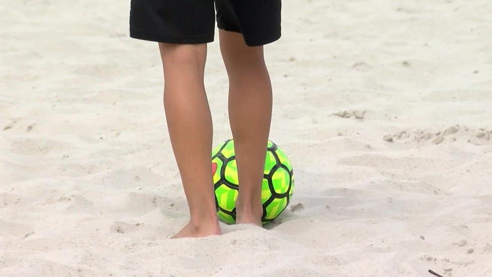 Piłka nożna plażowa: mecz o trzecie miejsce kobiet