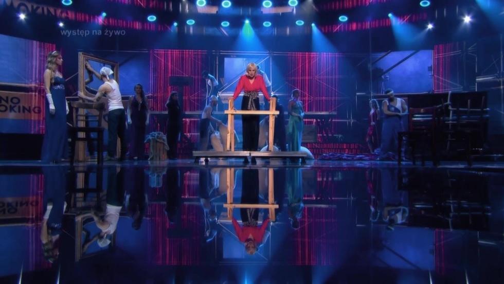 Emocjonalne show Eweliny Ruckgaber jako Sam Brown