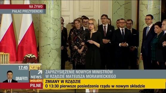 Rekonstrukcja Rządu - 09.01.2018