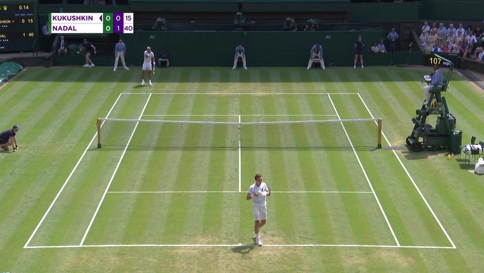 Rafael Nadal - Mikhail Kukushin