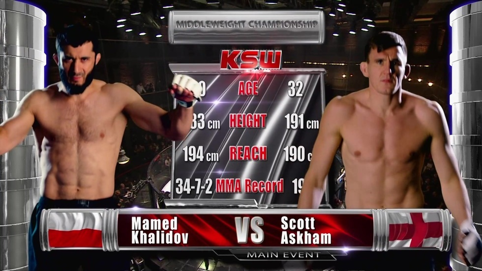 Scott Askham - Mamed Khalidov