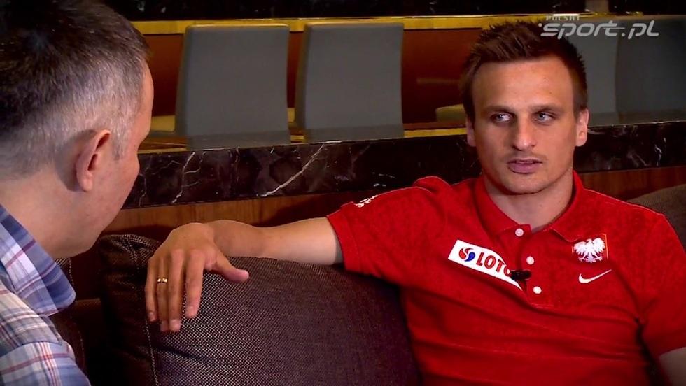 Kulisy sportu - wywiady Romana Kołtonia: Sławomir Peszko