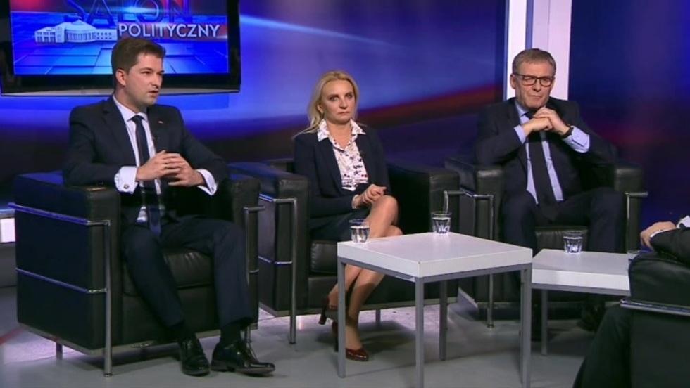 Salon Polityczny - Agnieszka Ścigaj, Grzegorz Furgo, Sylwester Tułajew